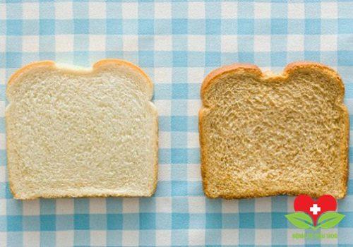 Tuyệt đối không nên ăn bánh mì trắng