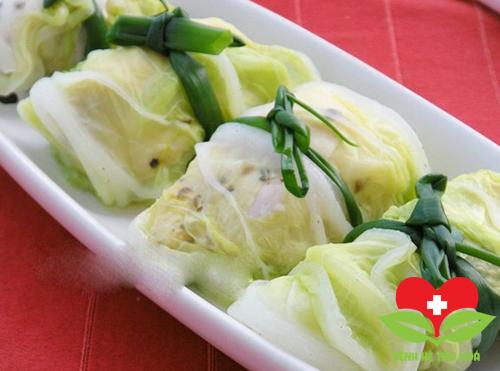 Món ăn từ cải bắp có tác dụng tốt cho tim mạch