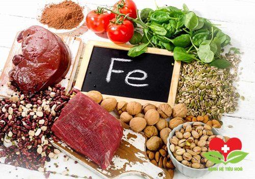 Bệnh nhân nên tăng cường sử dụng những thực phẩm chứa sắt