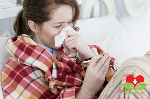 Khi cơ thể đang bị mệt mỏi, ốm sốt