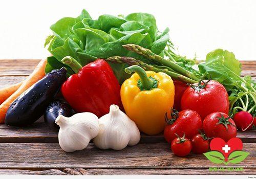 Bổ sung rau và hoa quả tươi từ thiên nhiên