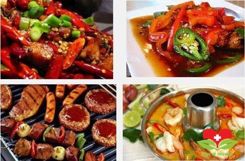 Thực phẩm người bệnh viêm họng nên tránh