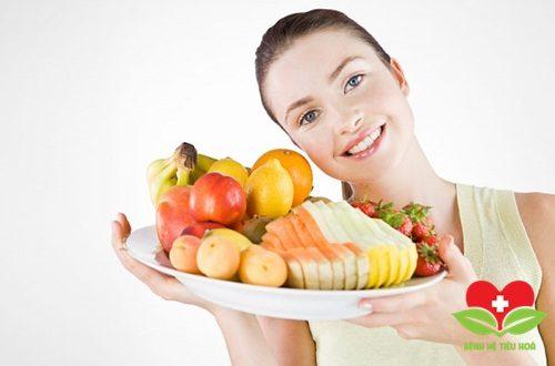 Bổ sung một lượng trái cây và hoa quả phù hợp mỗi ngày