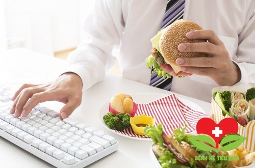 Ăn uống thiếu khoa học gây đau dạ dày