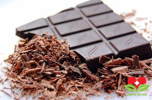 Socola có thể gây mòn men răng, khó tiêu hóa