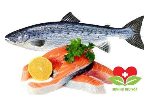 Cá hồi bổ sung omega 3 cho cơ thể