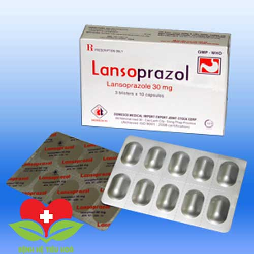 ThuốcLansoprazole chuyên điều trị các bệnh về dạ dày