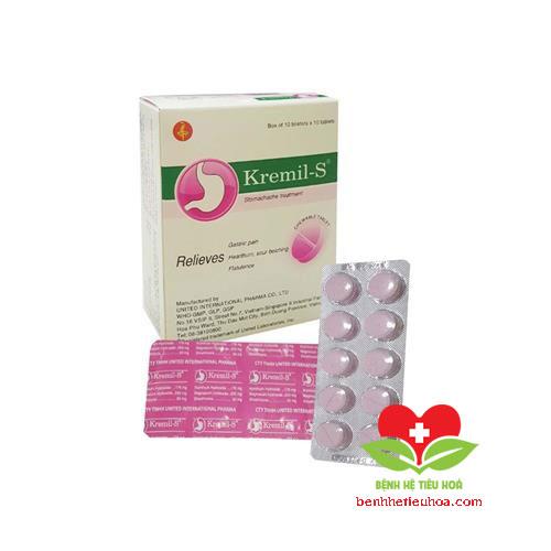 Liều lượng - Cách dùng Kremil-S